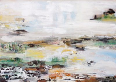 'land' 145x190x5cm oil on canvas 2012